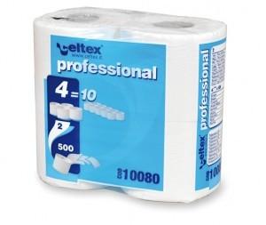 Celtex WC papír, kistekercses, 2 rétegű, 500 lapos, 100% cell., 60 tek/csomag