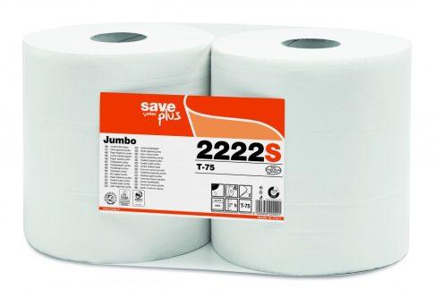 Celtex 2222S WC papír, MAXI, 2 rétegű, reciklált, d26,5, 9×15, 300 m, 6 tek/cs