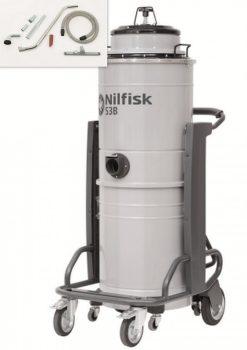 Nilfisk S3B L 100 egyfázisú ipari por- és vízszívó csomag
