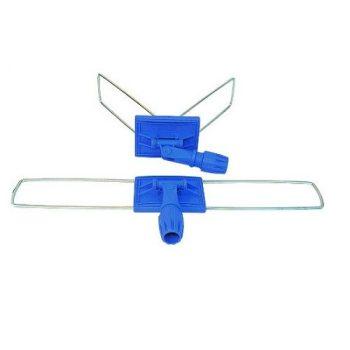Fémkeretes moptartó műanyag csatlakozóval, 100 cm