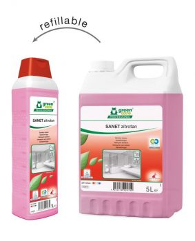 Tana SANET Zitrotan citromsavas szanitertisztító, green care, 5 l